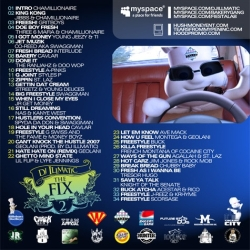 DJ Illmatic The Fix 2 Back Cover