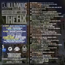 DJ Illmatic The Fix 4 Back Cover
