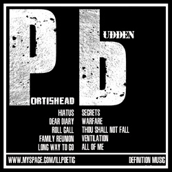 Ill Poetic & Joe Budden Joe Budden Meets Portishead Back Cover