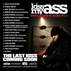 DJ Green Lantern & Jadakiss Kiss My As* Pt. 2 Back Cover