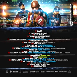 Jadakiss, DJ Drama & DJ Green Lantern The Champ Is Here 3 Back Cover