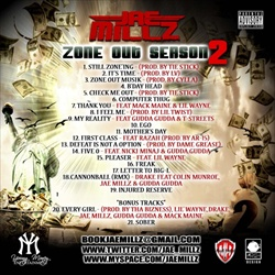 DJ Big Mike & Jae Millz Zone Out Season 2 Back Cover