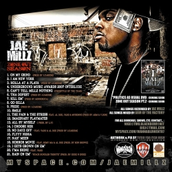Jae Millz Zone Out Season Back Cover