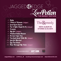 Jagged Edge Love Potion Back Cover
