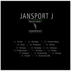 Jansport J The 2 AM Tape Back Cover