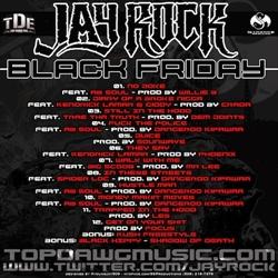 Jay Rock Black Friday Back Cover