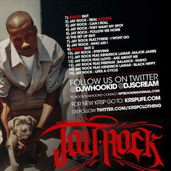 DJ Whoo Kid & Jay Rock Tales From The Hood Pt. 2 Back Cover