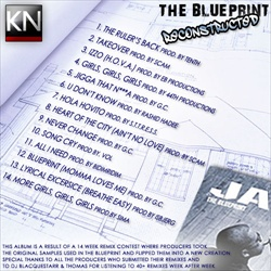 Jay-Z The Blueprint: Reconstructed Back Cover