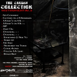 J. Cardim & Joe Budden The Cardim Collection Instrumentals Back Cover