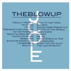 J. Cole The Blow Up Back Cover