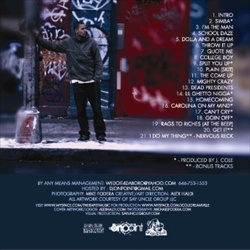 J. Cole The Come Up Back Cover