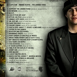 DJ Capcom & Jimmie Hoffa The Jimmie Fund Back Cover