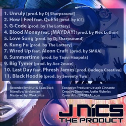 J. NiCs Southern Niggas Ain't Slow: The Product Back Cover