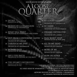 Joe Budden A Loose Quarter Back Cover