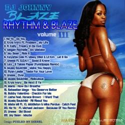 DJ Johnny Blaze Rhythm & Blaze Vol. 3 Back Cover