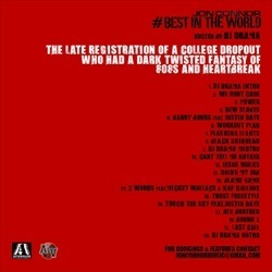 Jon Connor Best In The World Back Cover