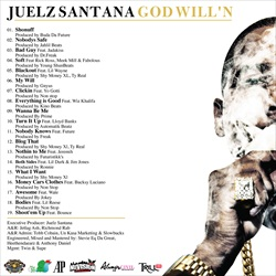 Juelz Santana God Will'n Back Cover