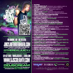 Juicy J & DJ Scream Blue Dream & Lean Back Cover