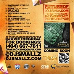 DJ Smallz & Juvenile Mardi Gras Back Cover