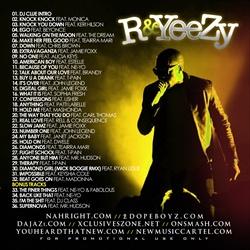 DJ Clue & NMC R&Yeezy (Kanye West R&B) Back Cover