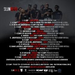 K Camp SlumLords Back Cover