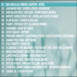 DJ Green Lantern, Broke Mogul & Kid Cudi How To Make It In America Back Cover