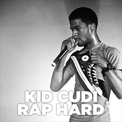 Kid Cudi Rap Hard Front Cover