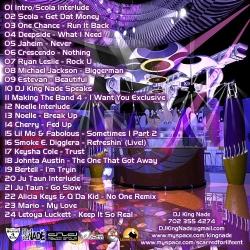 DJ King Nade Infatuation Part 3 Back Cover