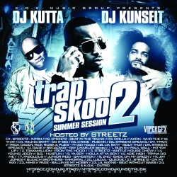 DJ Kunseit & DJ Kutta Trap Skool 2 Front Cover