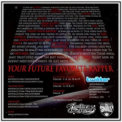 Laws & DJ Smallz Your Future Favorite Rapper Back Cover
