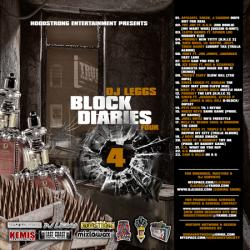 DJ Leggs Block Diaries 4 Front Cover