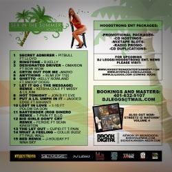 DJ Leggs Sex In The Summer Vol. 3 Back Cover