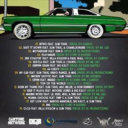 Boss Hog Outlawz & LE$ Playa Potna Back Cover