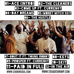 Le$ & Cookin Soul ACE Back Cover