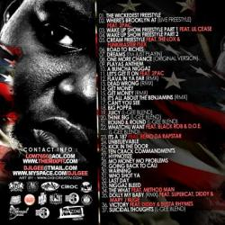 DJ L-Gee America's Favorite Rapper 1 Back Cover