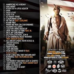 DJ L-Gee America's Favorite Rapper Pt. 2 Back Cover