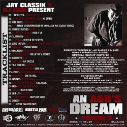 Jay Classik & DJ L-Gee An A&R's Dream Vol. 2 Back Cover