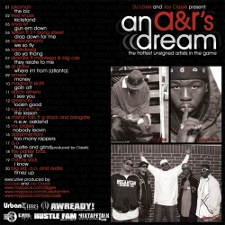 DJ L-Gee & Jay Classik An A&R's Dream Back Cover