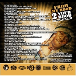 DJ L-Gee From My Hood To Your Hood 2 Back Cover
