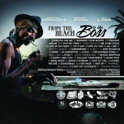 Digital Product, Snoop Dogg & DJ L-Gee From The Beach To The Boss Back Cover