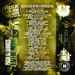 Prism DJ Services & DJ L-Gee Fuka Major Label 4th Edition Back Cover
