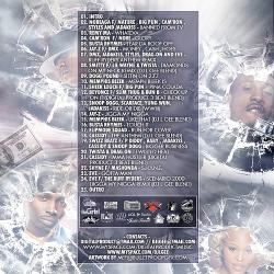 DJ L-Gee Musical Massacre 'Swizz Beatz Edition' Back Cover