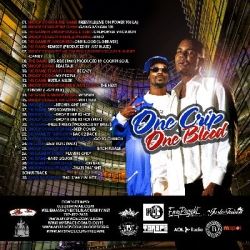 DJ L-Gee & D Lyfe One Crip One Blood 'Snoop Dogg & The Game' Back Cover
