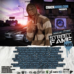 DJ L-Gee Street Fame Vol. 8 Front Cover