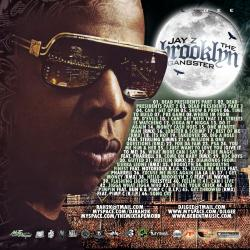 DJ Rah2k  & DJ L-Gee The Brooklyn Gangster Back Cover