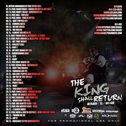 DJ L-Gee, DJ Flaco & T.I. The King Shall Return Back Cover