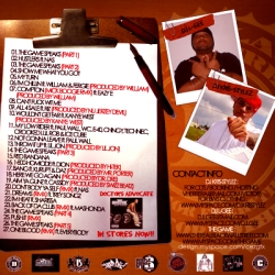 DJ Kris-Stylez & DJ L-Gee The West Coast Saviour Back Cover