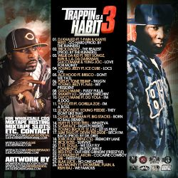 DJ L-Gee Trappin Is A Habit 3 Back Cover