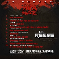 Lil Reese Supa Savage Back Cover