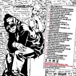 DJ Drama & Lil Wayne Dedication 3 Back Cover